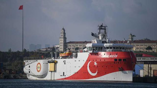 تركيا تضاعف حجمها في شرق البحر المتوسط بعد الاتفاق بين مصر واليونان