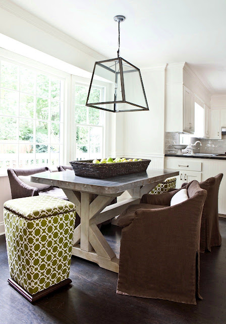 30 Ways To Create A Trendy Industrial Dining Room: Melanie Turner Via Cococozy.blogspot