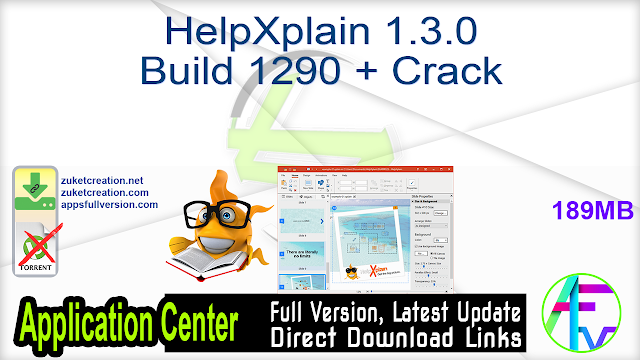 HelpXplain 1.3.0 Build 1290 + Crack
