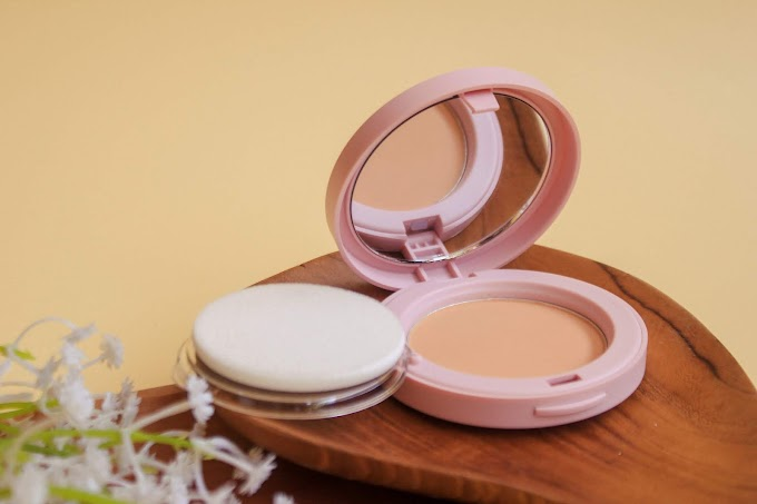 Review Rosé All Day The Realest Lightweight Compact Powder - Medium