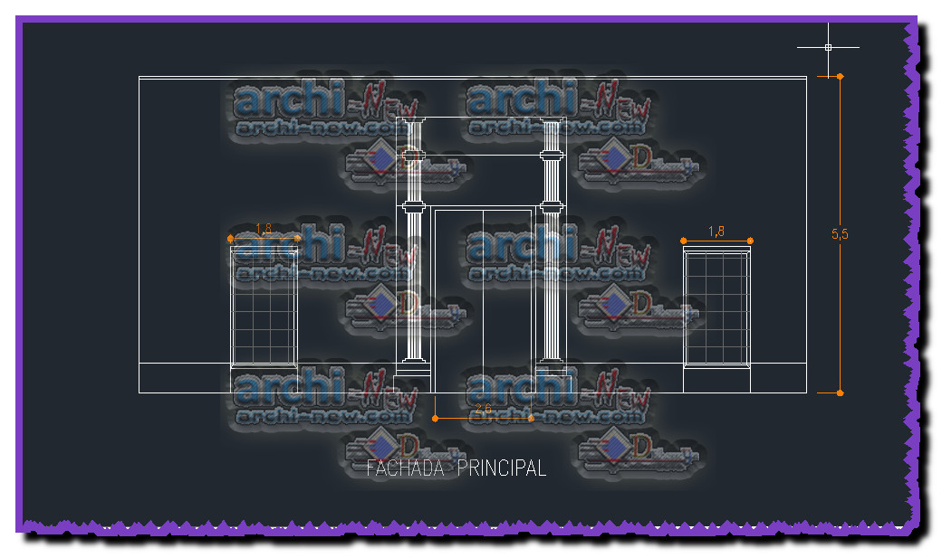 Full file house reconstruction dwg archi new free dwg for House cad file