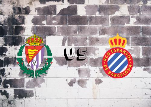 Real Valladolid vs Espanyol  Resumen