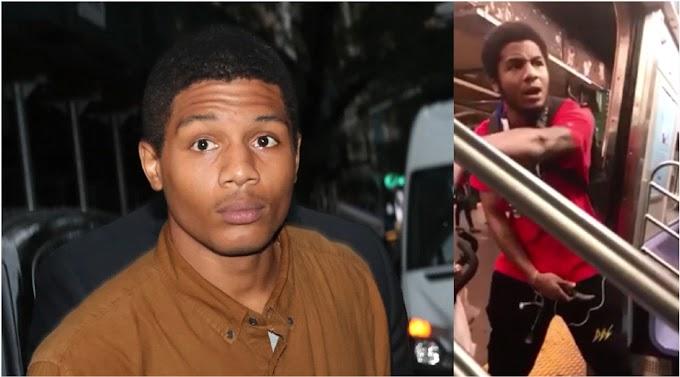 Arrestan un dominicano que cuchillo en mano defendía a su hijo en el vagón de un tren