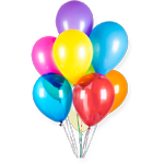 balloons party disco in learn spanish