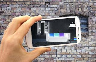 Cara kerja aplikasi kamera tembus pandang android, aplikasi tembus pandang android hoax