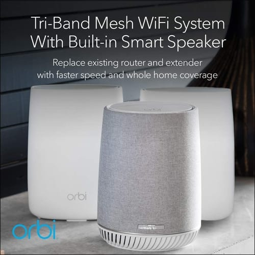 Review NETGEAR RBK53V Orbi Mesh WiFi System