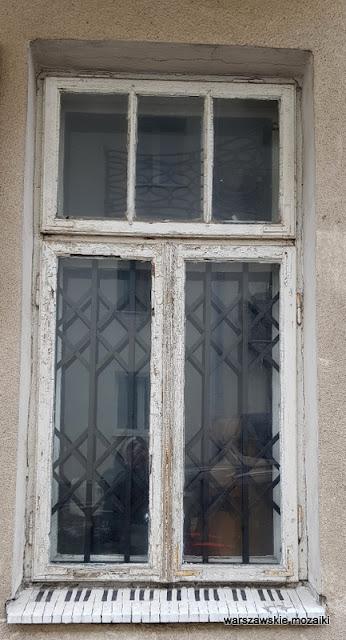 okno Warszawa Warsaw Stary Mokotów kamienica Ludwika i Stanisławy Tynelów architektura