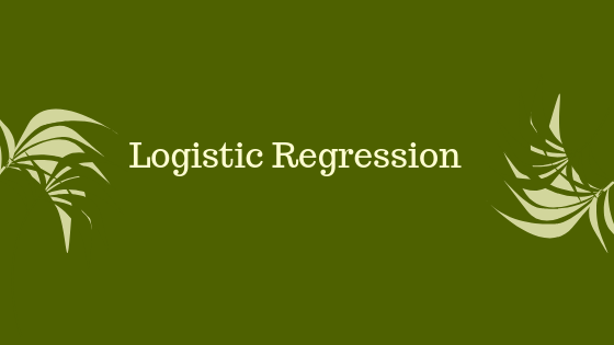 Logistic Regression Example