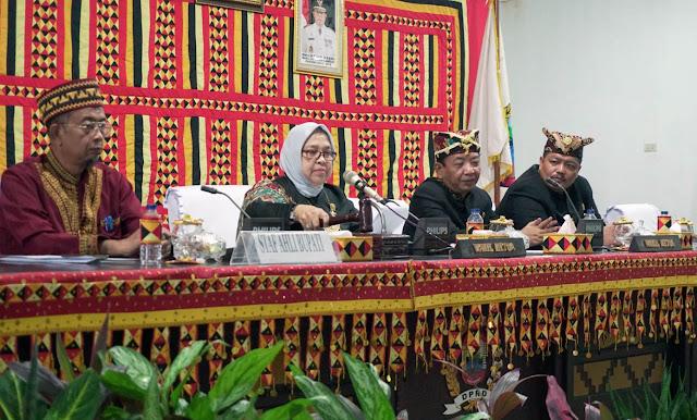 HUT Provinsi Lampung ke-55, DPRD Lampung Selatan Gelar Paripurna Istimewa