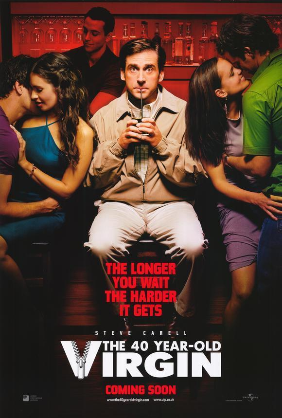 Download The 40 Year Old Virgin (2005) Full Movie in Hindi Dual Audio BluRay 720p [1GB]