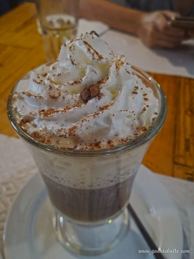 Irish Coffee - Restaurante A Tasca