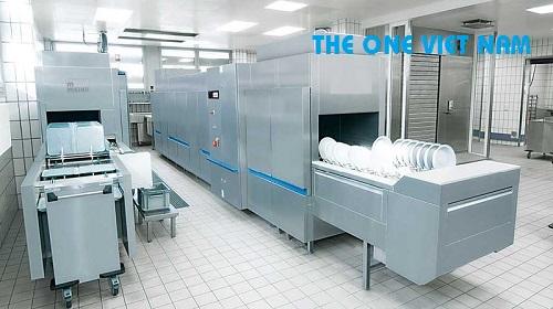 Lắp đặt bẫy mỡ cho máy rửa bát công nghiệp