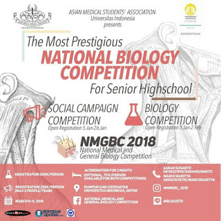 Lomba Biology Competition, National Medical and Biology Competition (NMGBC) 2018 di UI