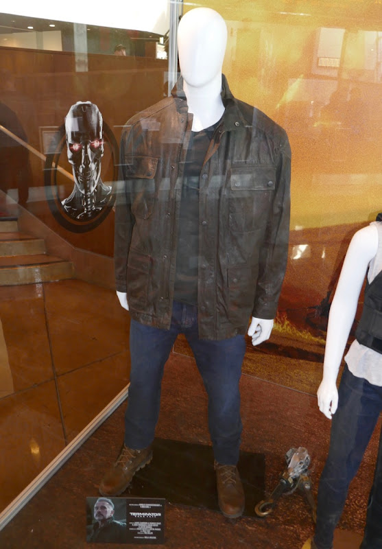 Arnold Schwarzenegger Terminator Dark Fate T-800 Carl costume