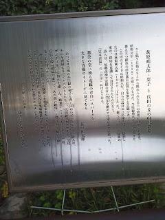 萩原朔太郎・葉子と代田の丘の61号鉄塔