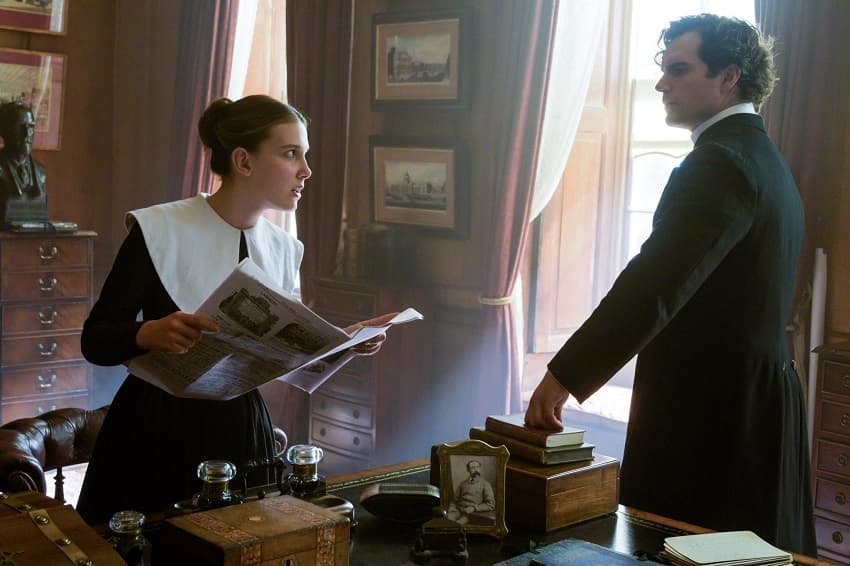Netflix показал трейлер приключенческого детектива «Энола Холмс» про сестру Шерлока и Майкрофта