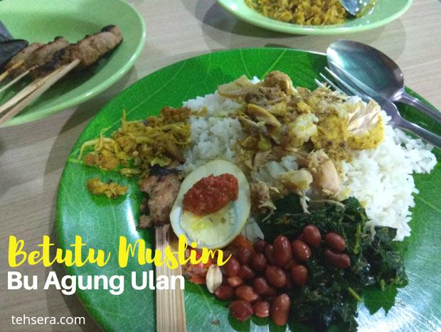 Ayam Betutu Muslim di Denpasar - Bu Agung Ulan Pilihannya