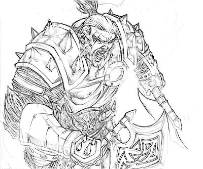 Diablo 3 Barbarian Art Yumiko Fujiwara