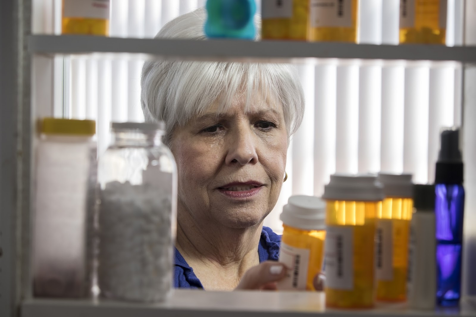 Older adults and prescription pills