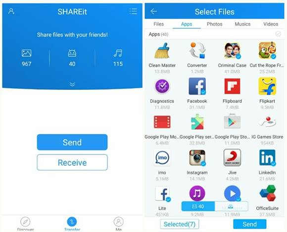 SHAREit Apk v4.0.3 For Android Apk Terbaru