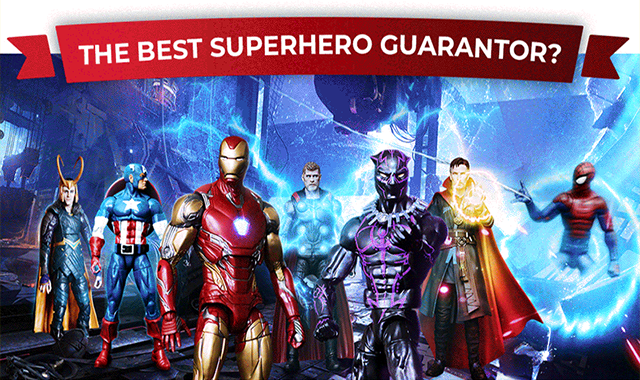 Which Superhero would make the Best Guarantor?