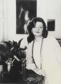 Muriel Spark, Rome c1971-74 (Photo © Jerry Bauer)