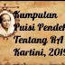 Kumpulan Puisi Pendek Tentang RA Kartini, 2019