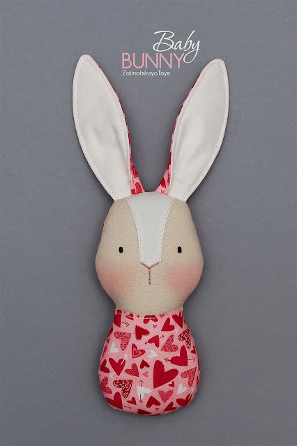 lovely bunny baby toy with diy craft for kids