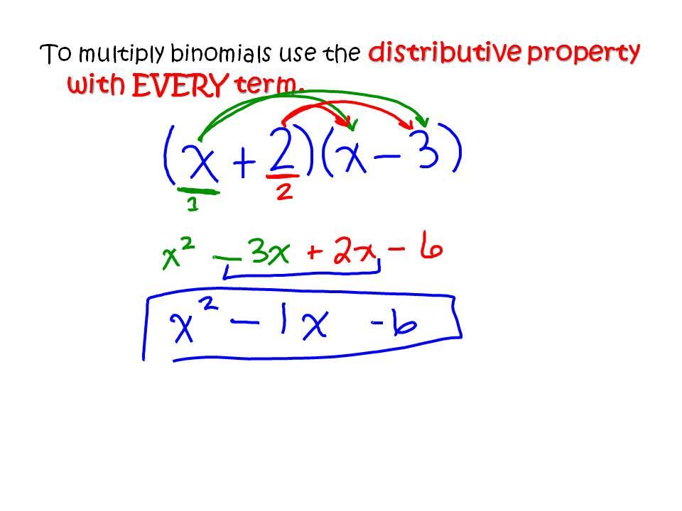 Ms Hale S Math Page Algebra 4 16 Multiplying