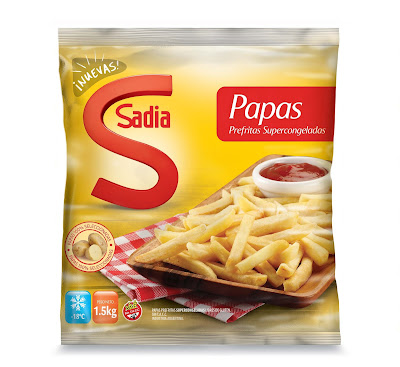 Sadia lanza al mercado una nueva línea de papas fritas