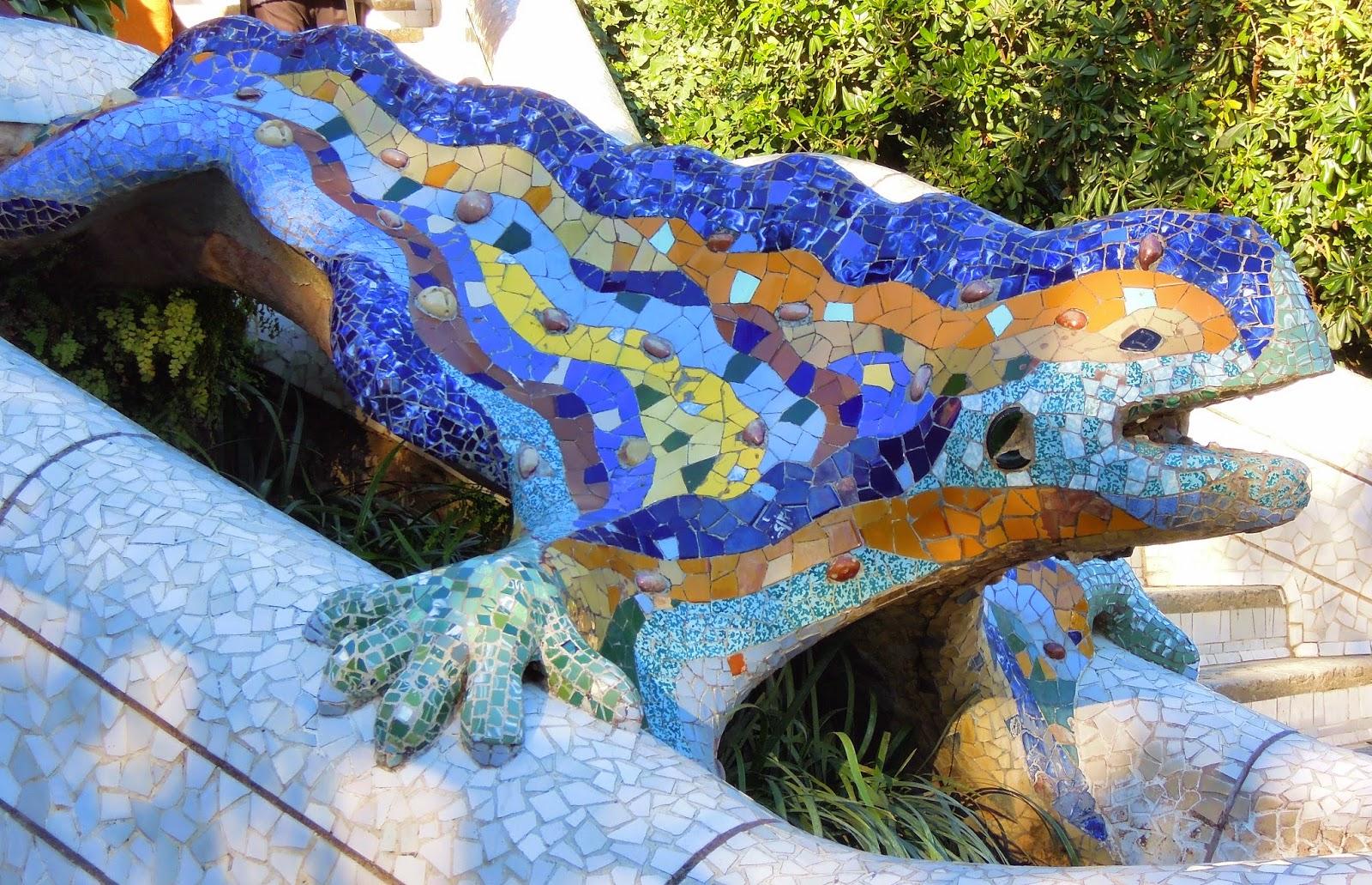 La salamandra di Park Guell