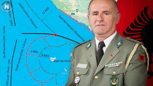 Αλβανός Στρατηγός: Σοβαρή πρόκληση και ανοησία η εγκατάσταση Ελληνικής Φρουράς στους Οθωνούς!