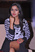 Akshatha in a lovely Leg Split Black Gown Cross legged Latest Stills 08.JPG