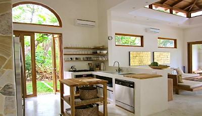 Dapur dan Ruang Makan Tanpa Sekat