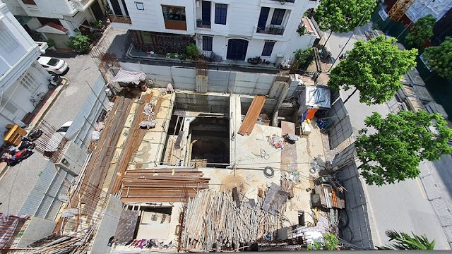 Vụ nhà phố 4 tầng hầm: đã tạm dừng công trình để kiểm tra