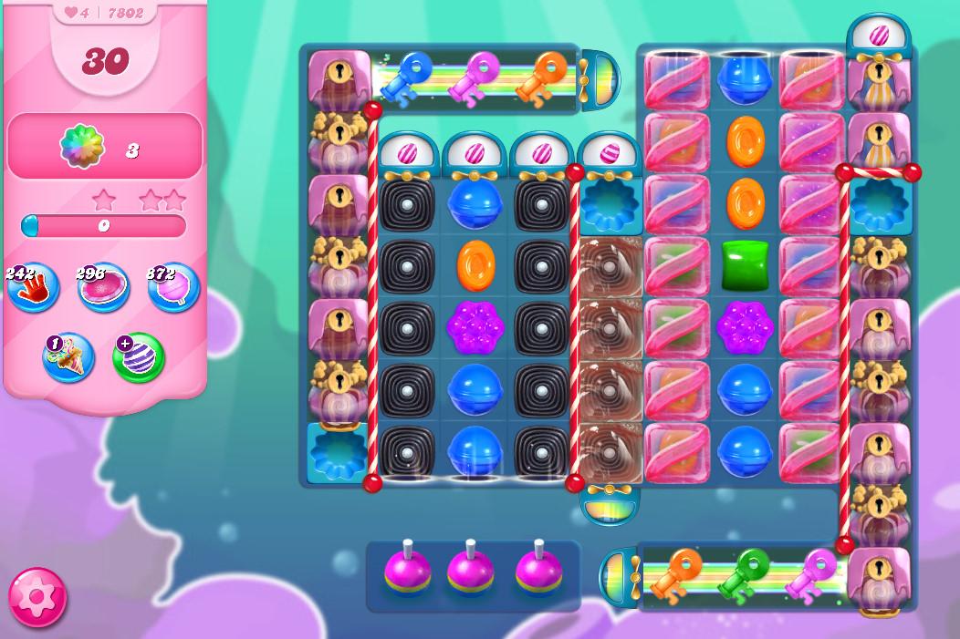 Candy Crush Saga level 7802