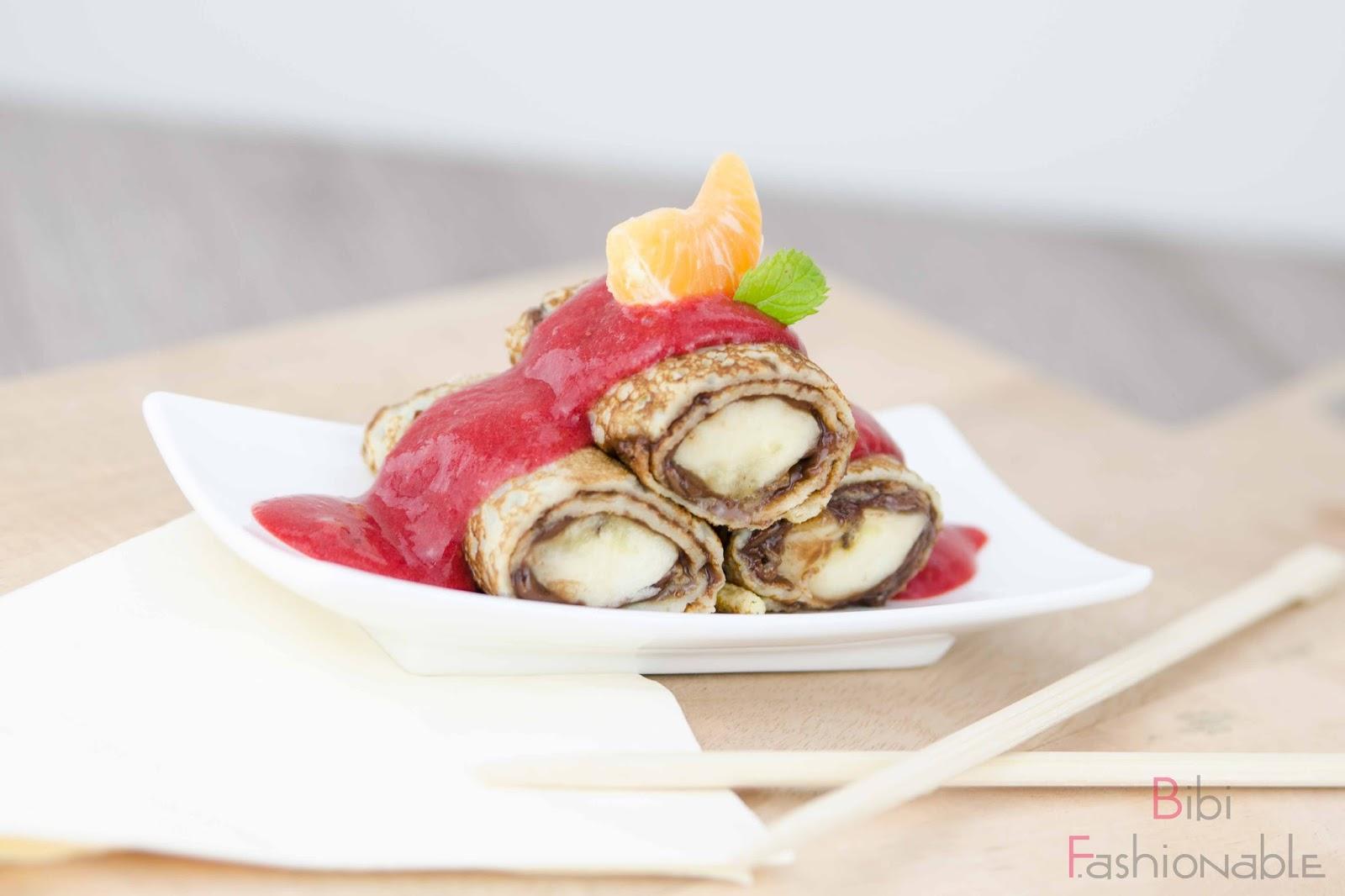 easygoingdish sweet banana sushi