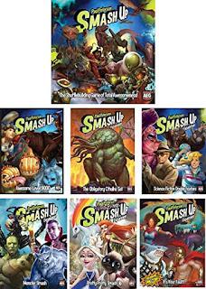 Expansiones del juego de mesa Smash Up