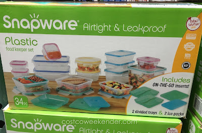 Keep food fresh with the Snapware Total Solution Plastic Food Keeper Set