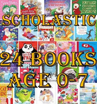 777af8da350fa The Brick Castle: Scholastic Advent Calendar 24 Book Bundle Giveaway ...