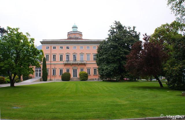 Villa Ciani situata nel Parco Ciani di Lugano