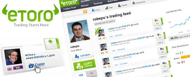 Ma stratégie pour Gagner de l'argent avec eToro