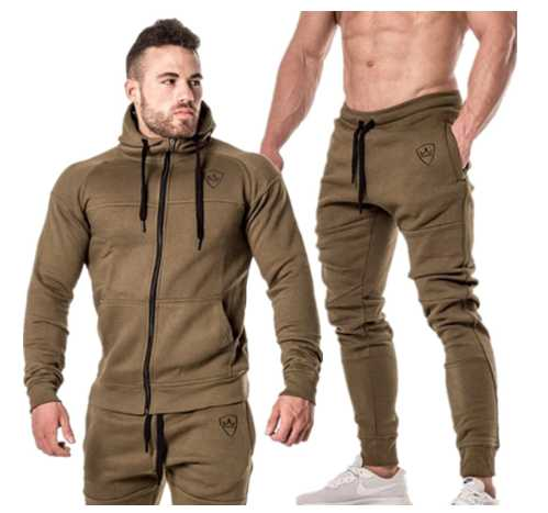 tracksuit set long sleeve men Sport Wear clothes Sweatshirt