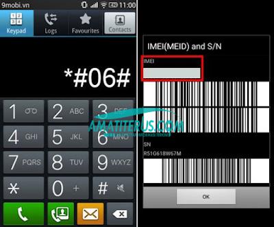 Cek keaslian HP Samsung dengan IMEI