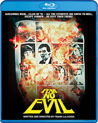 Cover art for Scream Factory's FEAR NO EVIL Blu-ray.