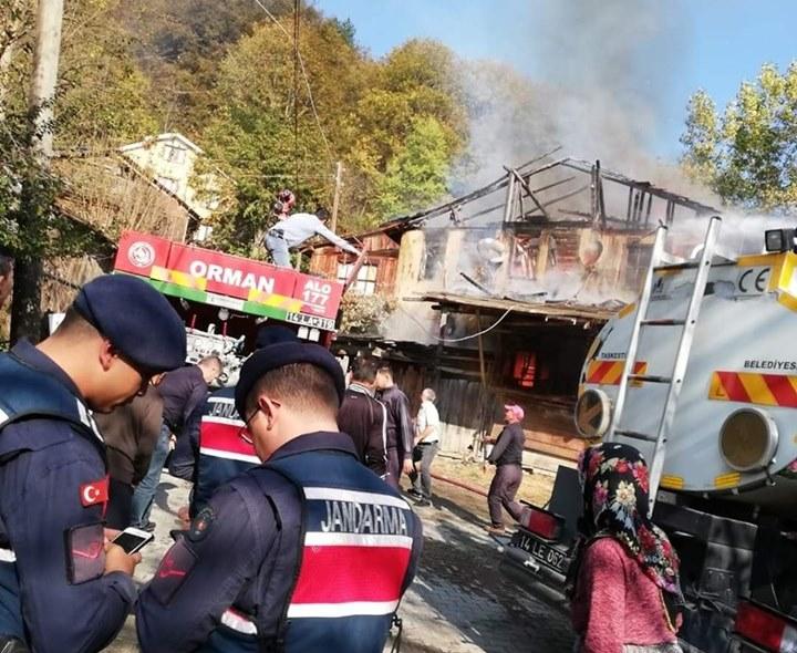 Taşkesti Karacasumandıra yangın