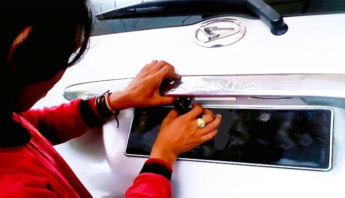 Cara Mudah Memasang Kamera Mundur Mobil Alias Rear Camera dengan Benar dan Tepat