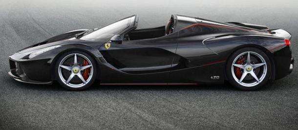 2017 Ferrari LaFerrari Aperta Exterior