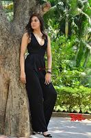 Sakshi Chaudhary in beuatiful black Deep neck Top and trousers at oollo pelliki kukka ~  Exclusive Galleries 040.jpg