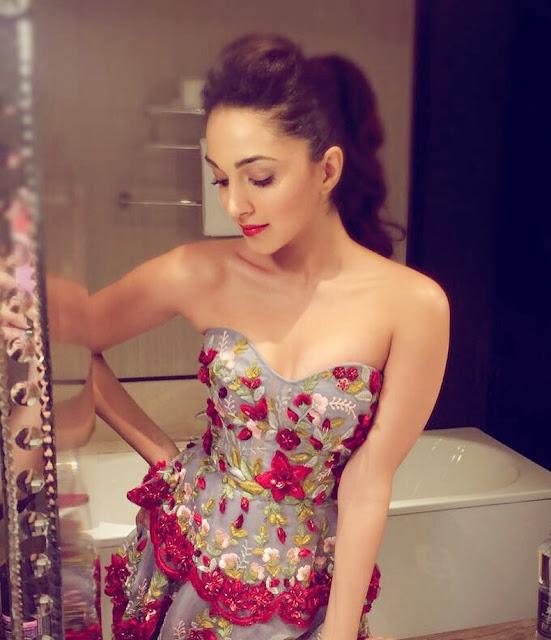 Actress Kiara Advani Hot Cleavage Photos Actress Trend